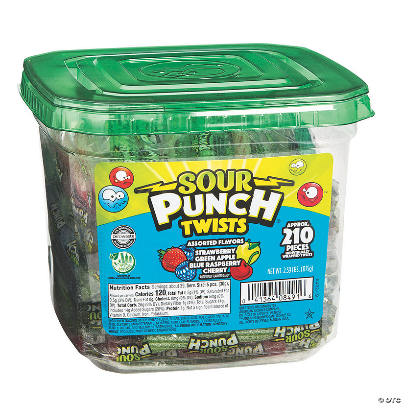 Sour Punch® Licorice Twists Candy Audio Thumbnail
