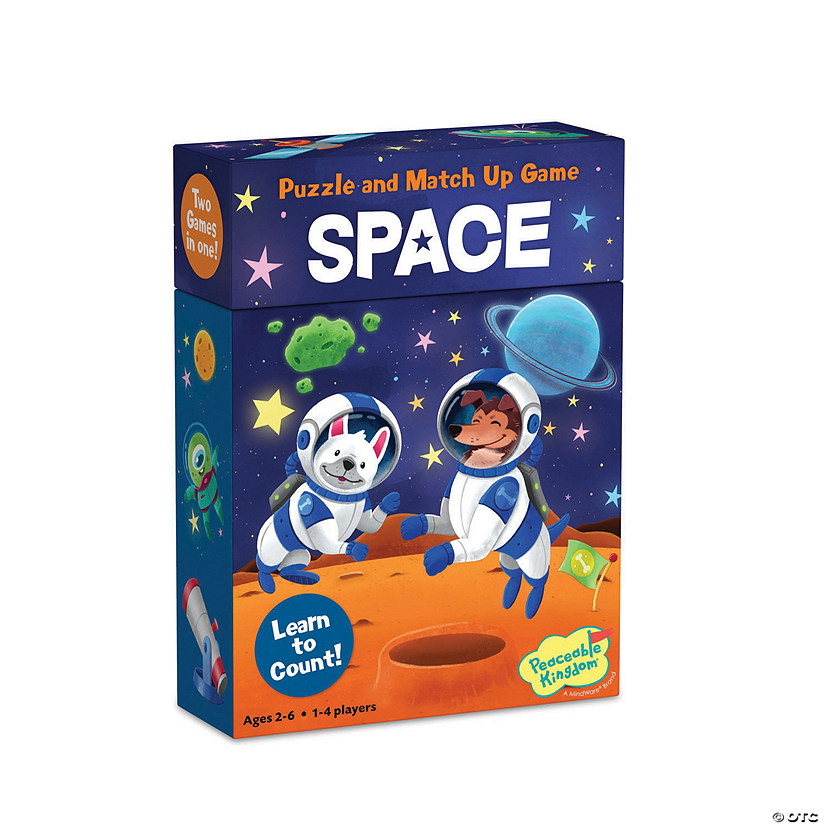 Space Match Up Game & Puzzle Image Thumbnail