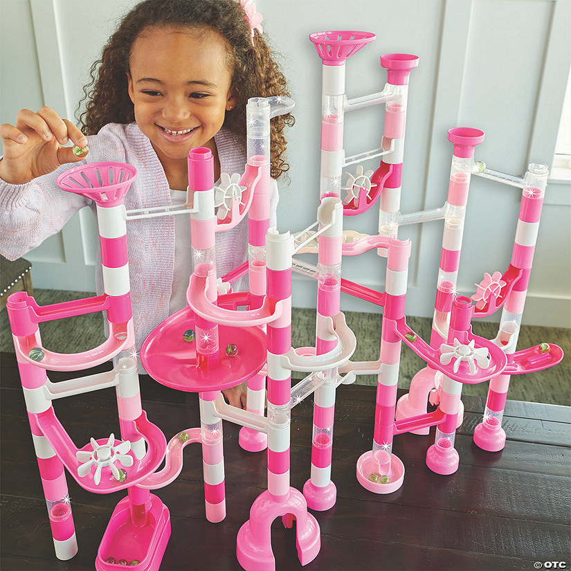 Sparkle Marble Run: 103 Pieces plus Add On Set