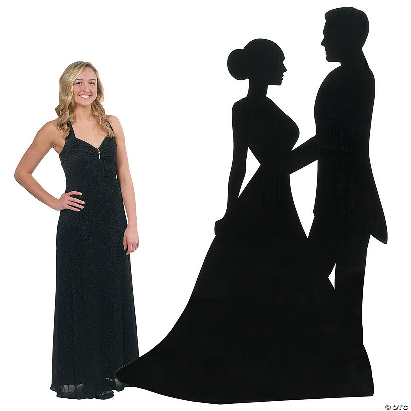 Sparkling Night Silhouette Dancers Cardboard Stand-Up Audio Thumbnail