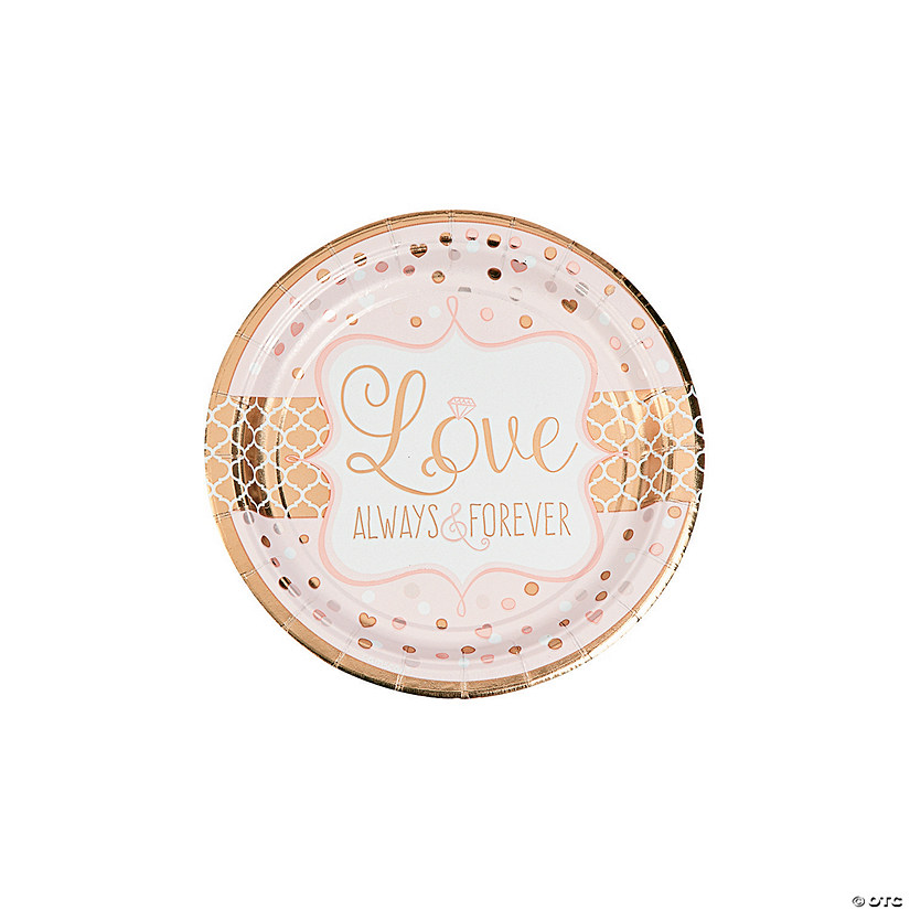 Sparkling Wedding Paper Dessert Plates Audio Thumbnail