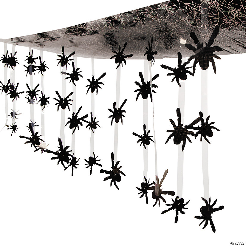 Spider Ceiling Halloween Decoration Image Thumbnail