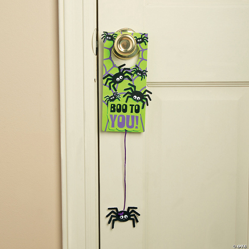 Spider Doorknob Hanger Craft Kit Audio Thumbnail