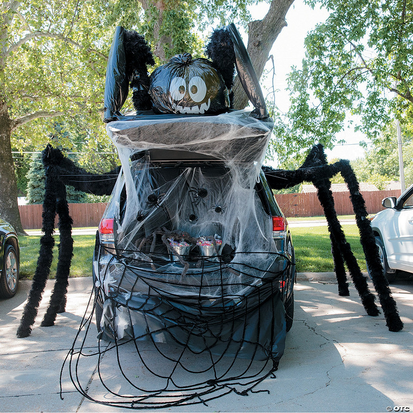 Spider Trunk-or-Treat Decorating Kit Image Thumbnail