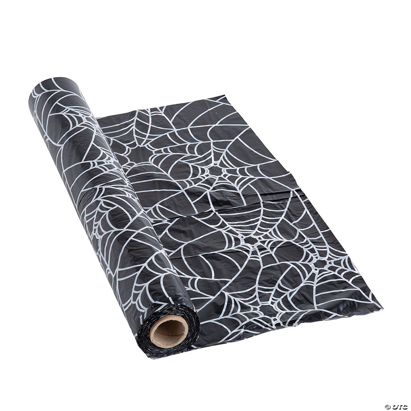 Spider Web Plastic Tablecloth Roll Audio Thumbnail