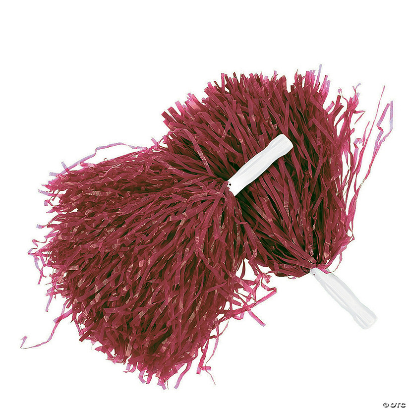 Spirit Pom-Poms- Burgundy Audio Thumbnail