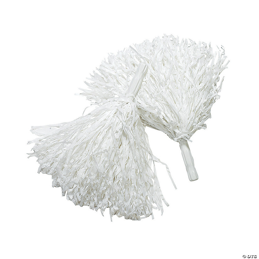 Spirit Pom-Poms - White Audio Thumbnail