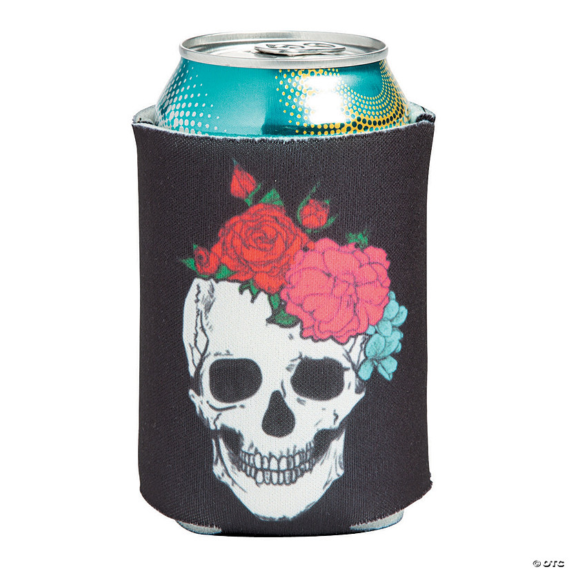 Spooky Floral Can Sleeves Image Thumbnail