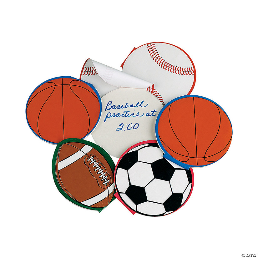Sport Ball Notepads Audio Thumbnail