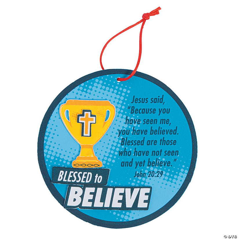 Sports VBS Believe Ornament Craft Kit Audio Thumbnail