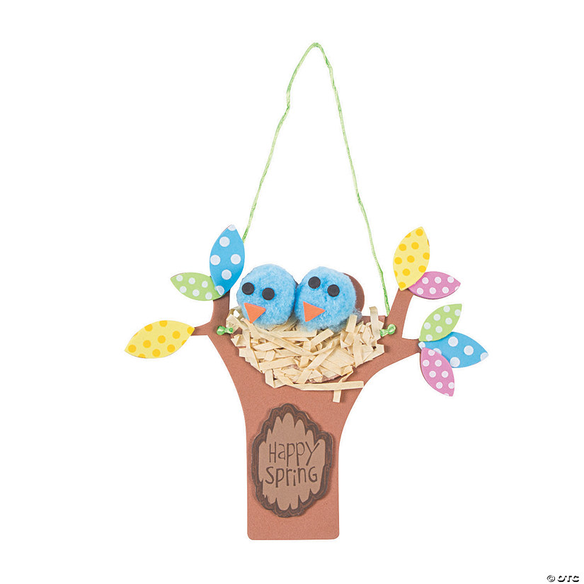 Spring Bird Nest Sign Craft Kit Audio Thumbnail