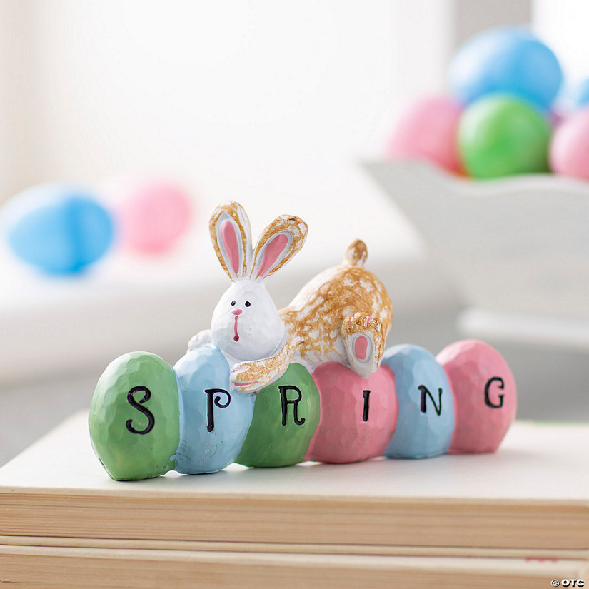 Spring Bunny Tabletop Decoration Audio Thumbnail