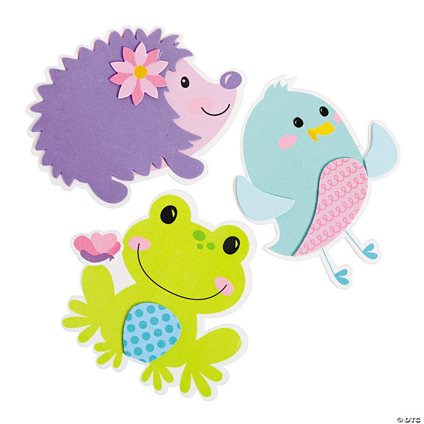 Spring Character Magnet Craft Kit