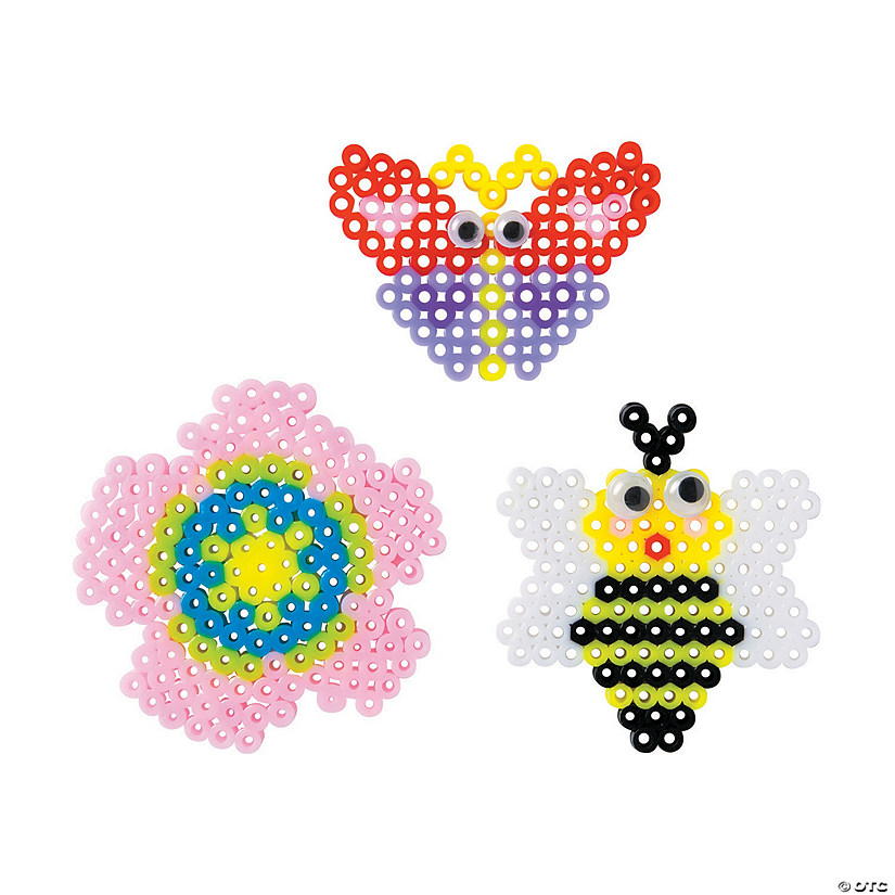 Spring Fuse Beads Craft Kit Image Thumbnail