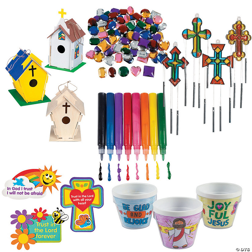 Spring Religious Craft Boredom Buster Kit Image Thumbnail