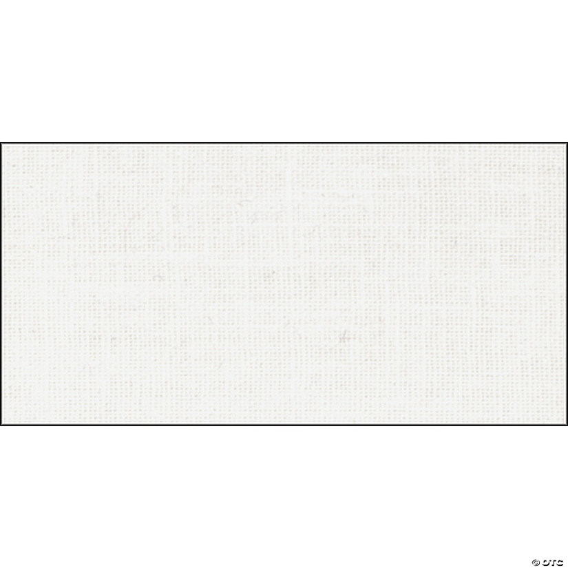 "Springs Creative-Weavers Cloth 43/44"" 55% Polyester/45% Cotton 10yd D/R-White"