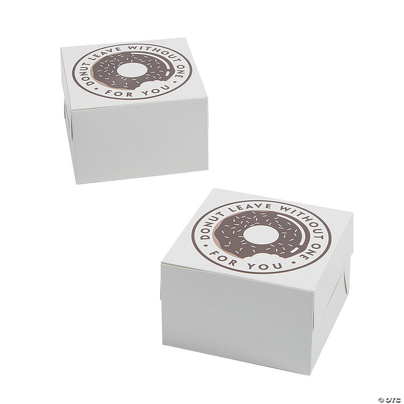 Square Donut Favor Boxes Audio Thumbnail