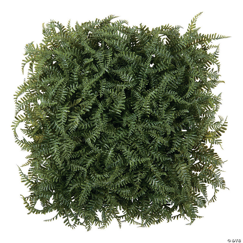 Square Faux Fern Greenery Mat