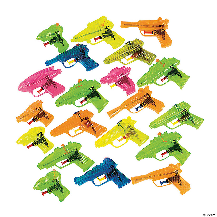 Squirt Gun Assortment Audio Thumbnail