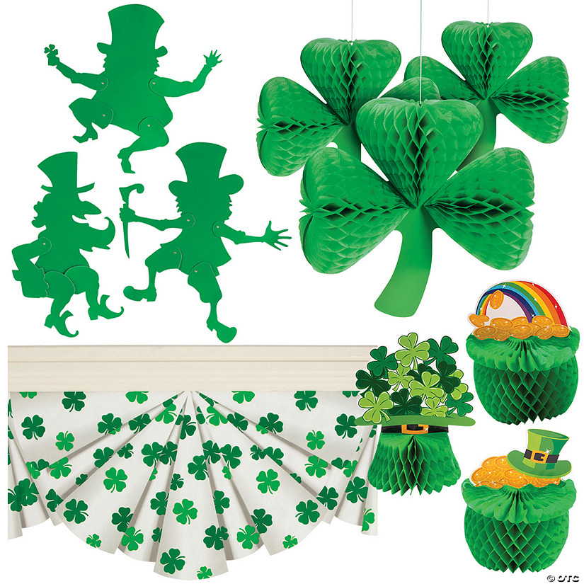 St. Patrick's Day Decorating Kit Image Thumbnail