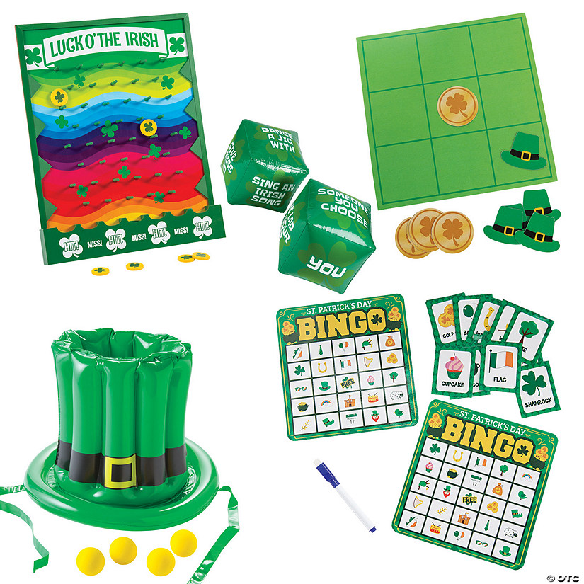 St. Patrick's Day Party Game Kit Image Thumbnail