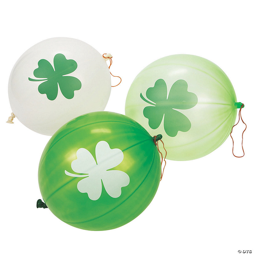 St. Patrick's Day Punch Ball Balloons