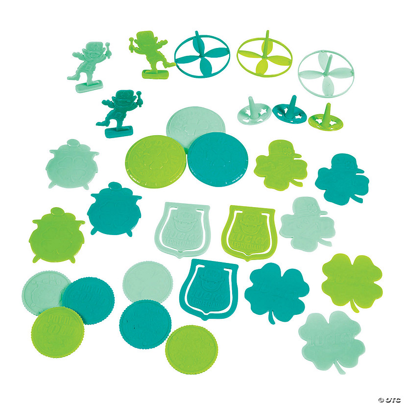 St. Patrick's Day Toy Assortment Image Thumbnail