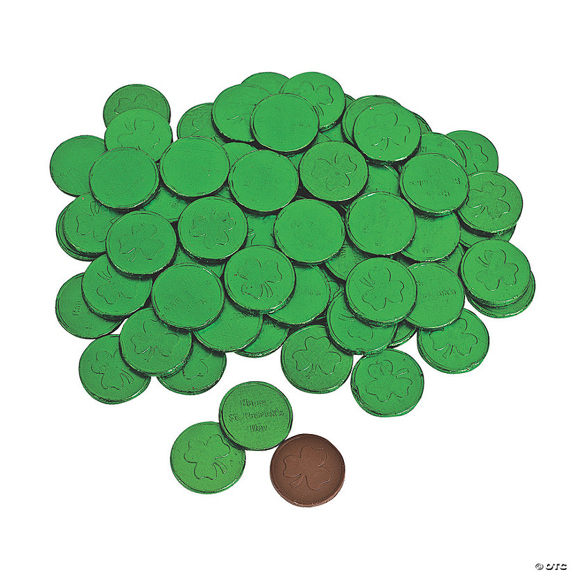 St. Patrick's Day Chocolate Coins Image Thumbnail