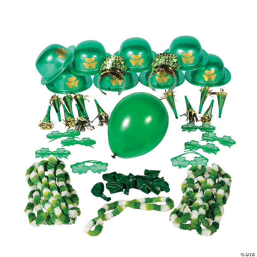 St. Patrick's Day Party Assortment For 24 Image Thumbnail