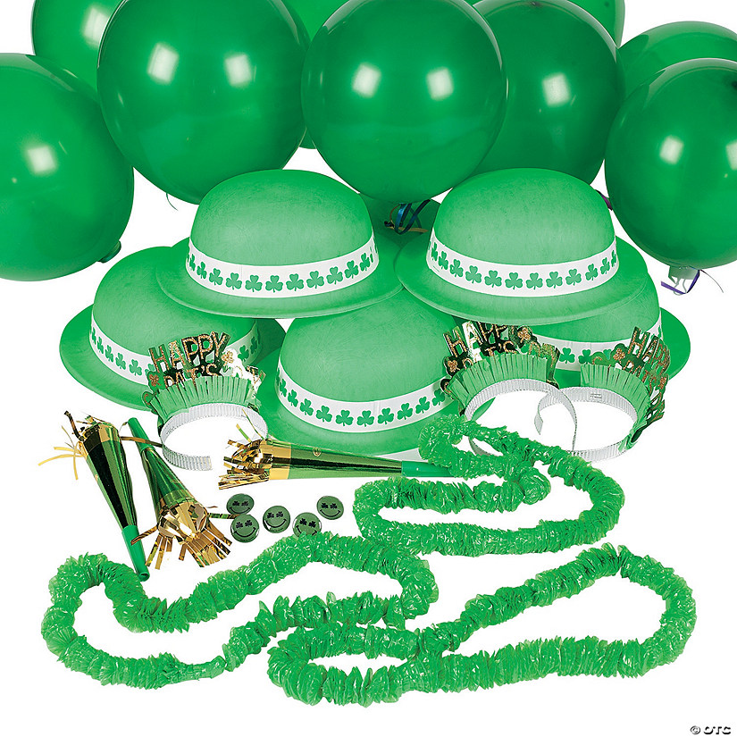 St. Patrick's Day Party Pack Assortment For 12 Image Thumbnail