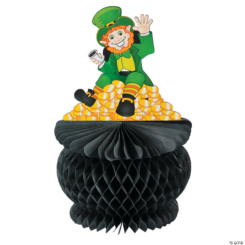 St. Pat's Pot of Gold Tissue Paper Centerpiece Image Thumbnail