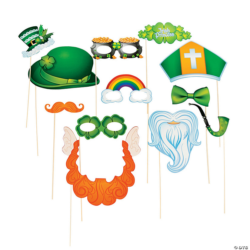 St. Patrick's Day Costume Photo Stick Props Audio Thumbnail