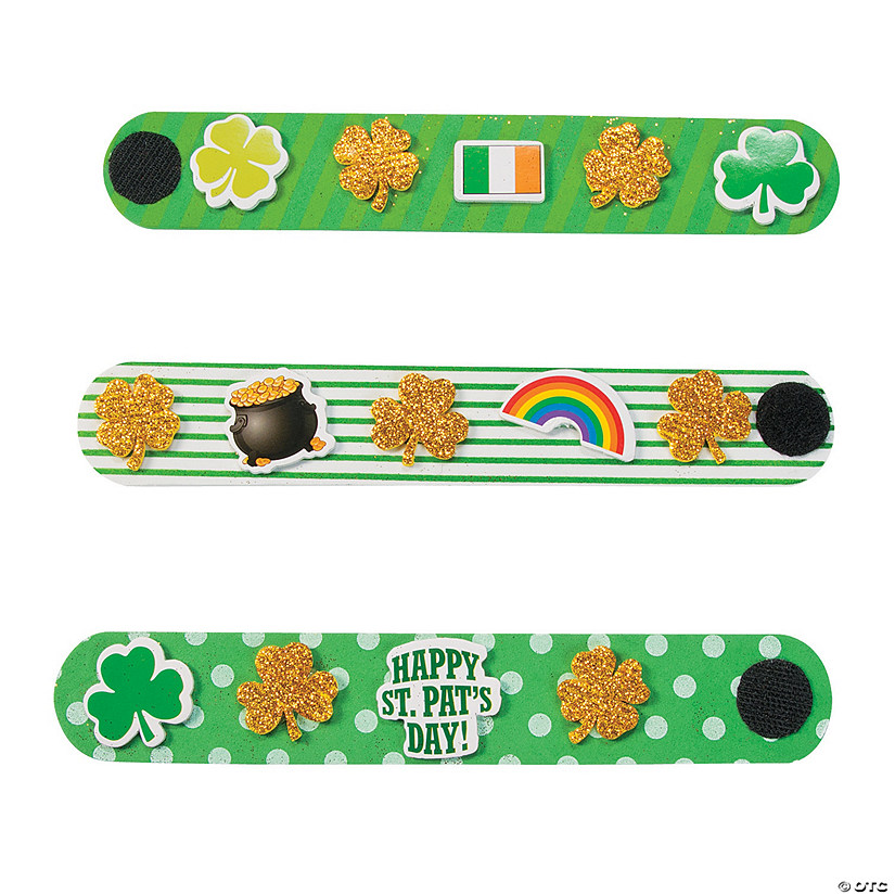 St. Patrick's Day Bracelet Craft Kit Audio Thumbnail