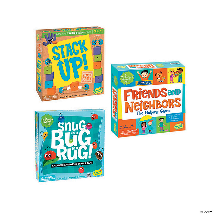 Stack Up!, Friends and Neighbors and Snug as A Bug In A Rug: Set of 3 Image Thumbnail