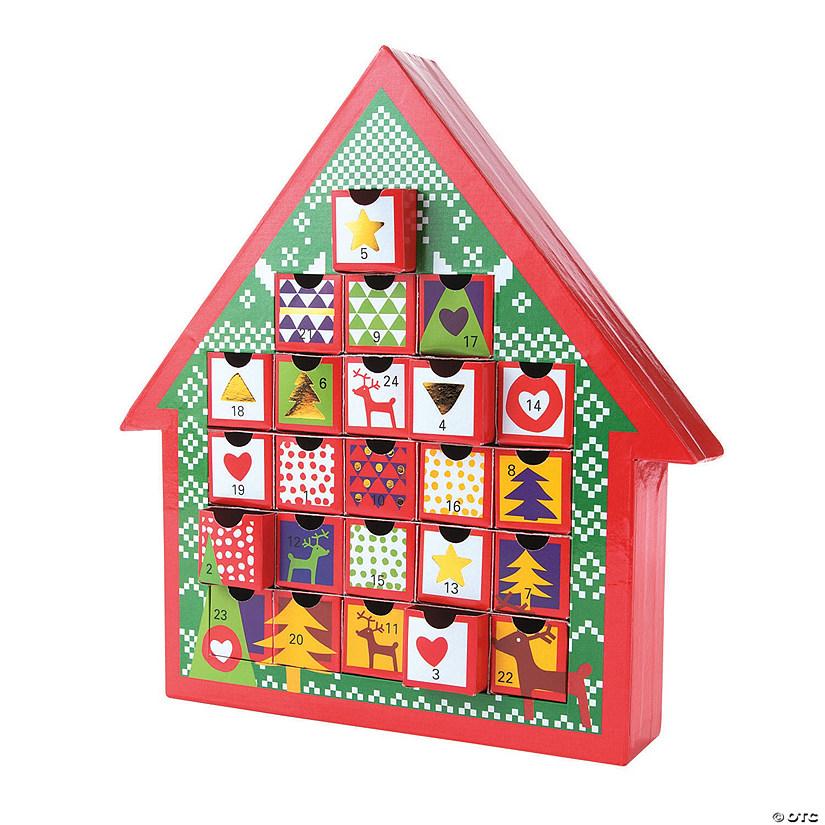 Christmas Advent Calendar.Stand Up Christmas Advent Calendar
