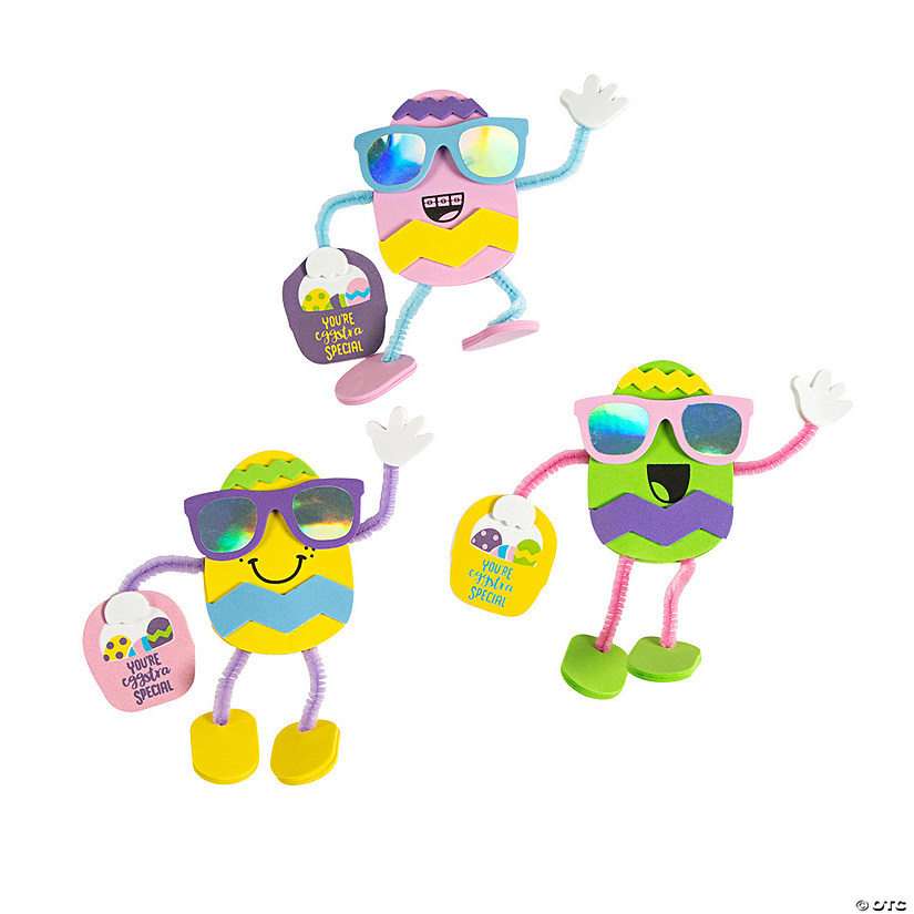 Stand-Up Easter Egg Character Craft Kit Image Thumbnail