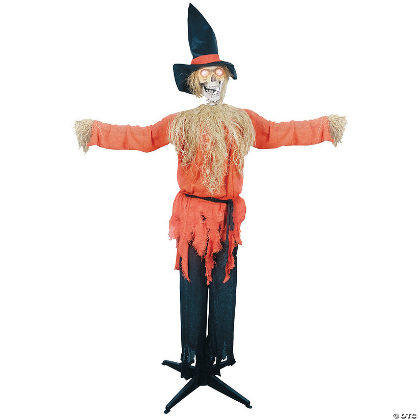 Standing Scarecrow With Moving Head Halloween Decoration Audio Thumbnail