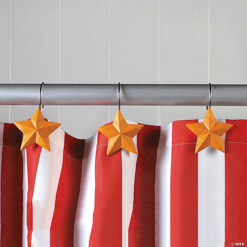 Star Shower Curtain Hooks