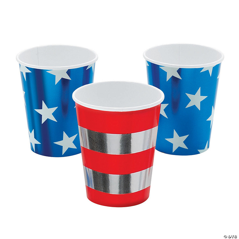 Star-Spangled Paper Cups Audio Thumbnail