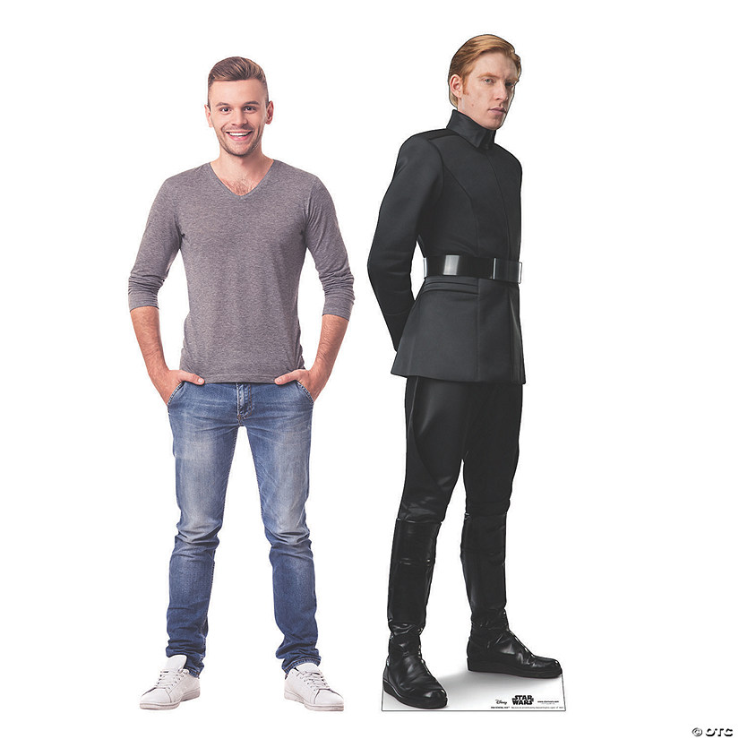 Star Wars™ Episode IX: The Rise of Skywalker General Hux Cardboard Stand-Up Audio Thumbnail