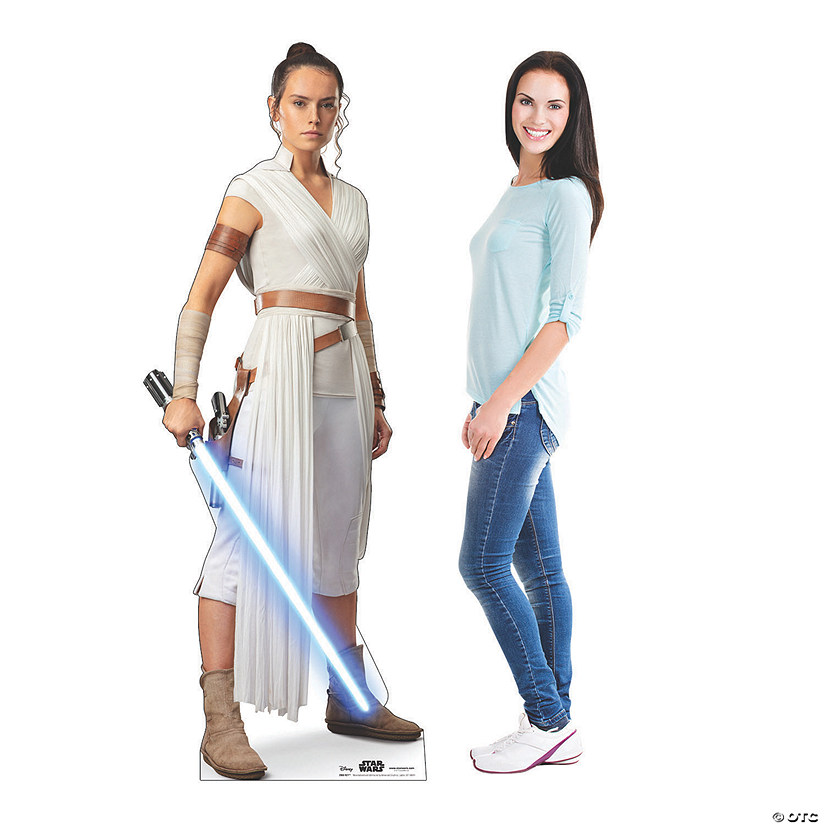 Star Wars™ Episode IX: The Rise of Skywalker Rey Cardboard Stand-Up Audio Thumbnail