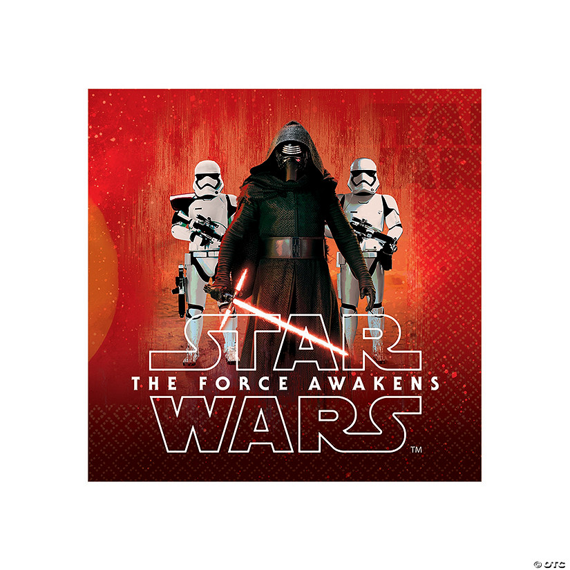 Star Wars™ Episode VII: The Force Awakens Luncheon Napkins Audio Thumbnail