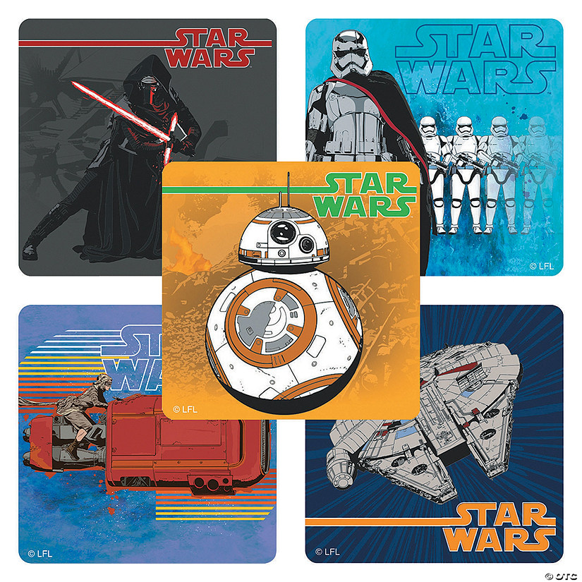 Star Wars™ Episode VII: The Force Awakens Stickers Image Thumbnail