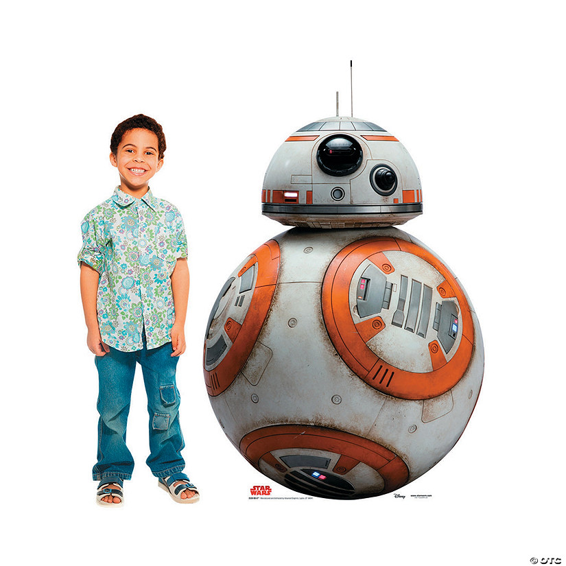Star Wars™ Episode VIII: The Last Jedi BB-8 Cardboard Stand-Up Audio Thumbnail