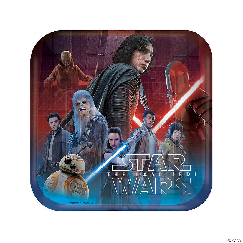 Star Wars™ Episode VIII: The Last Jedi Dinner Paper Plates Audio Thumbnail
