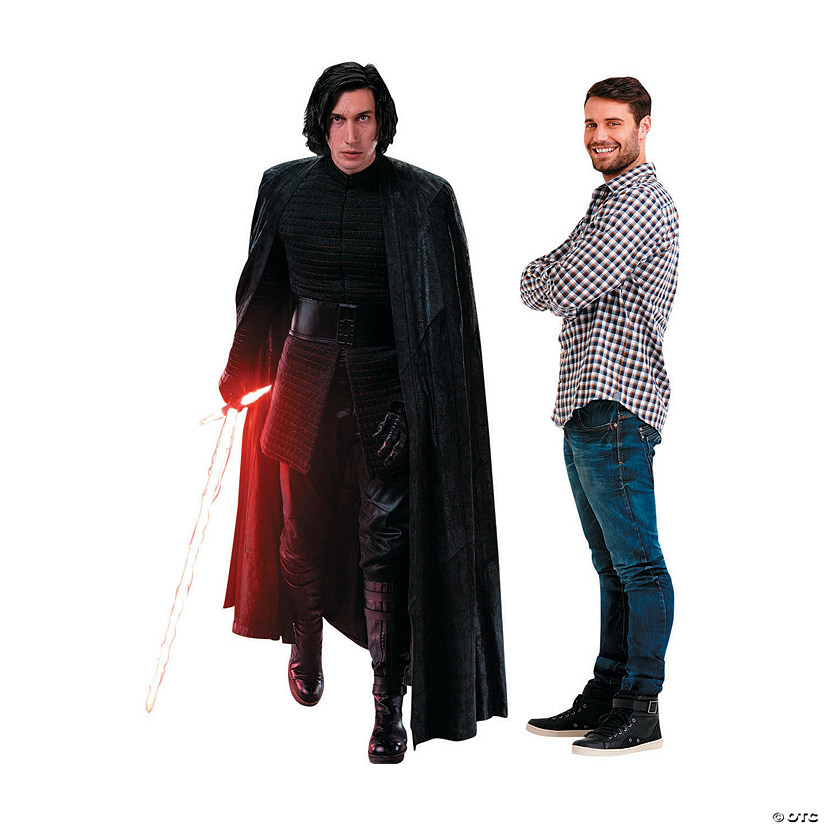 Star Wars™ Episode VIII: The Last Jedi Kylo Ren Action Cardboard Stand-Up Audio Thumbnail