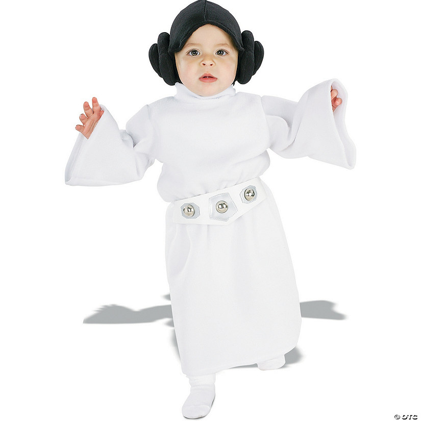 Star Wars™ Princess Leia Costume for Toddler Girls Image Thumbnail