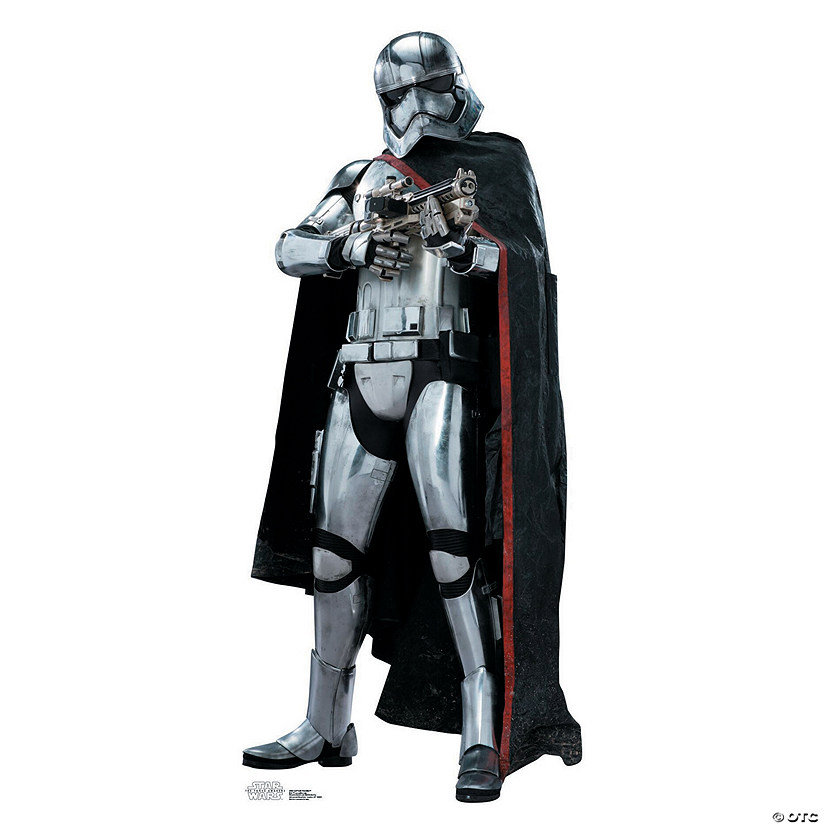 Star Wars™ VII Captain Phasma Cardboard Stand-Up Audio Thumbnail