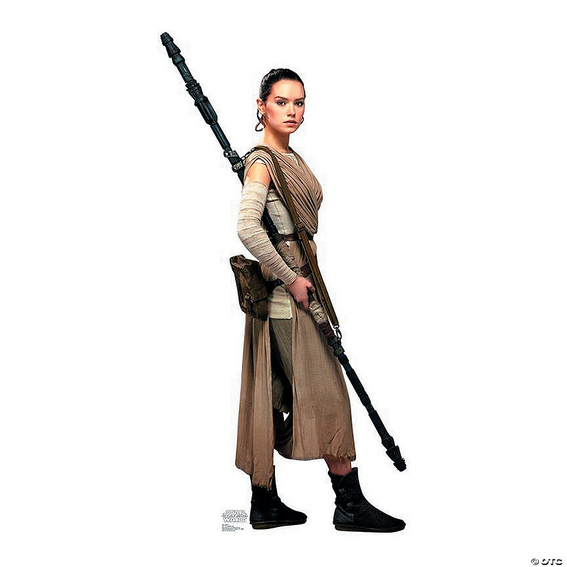 Star Wars™ VII Rey Cardboard Stand-Up Audio Thumbnail