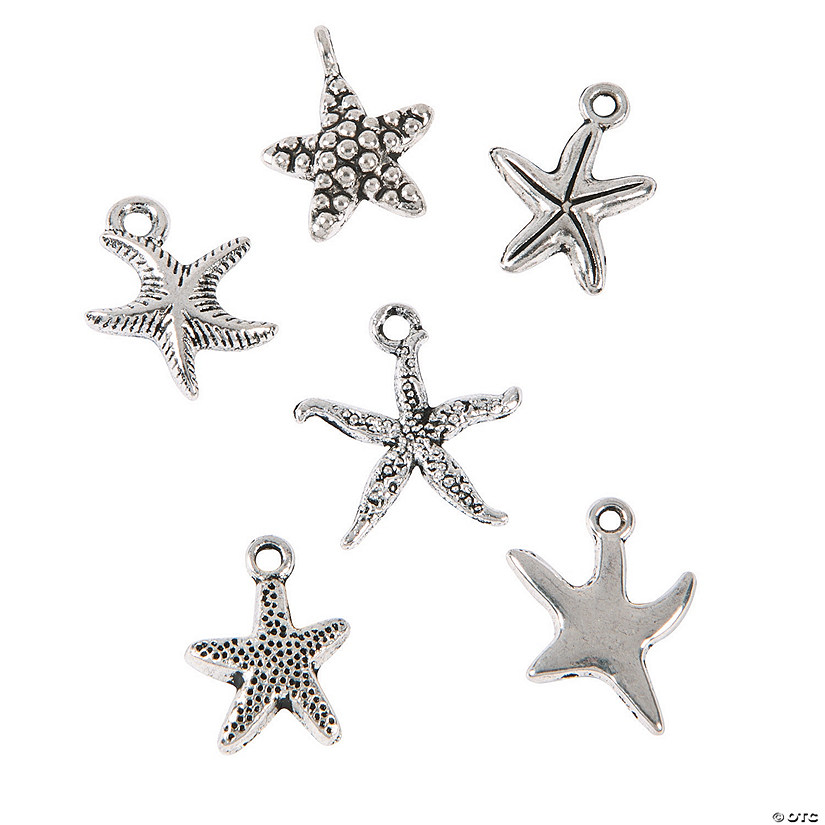 Starfish Charm Assortment